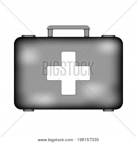 First aid sign icon on white background. Vector illustration.