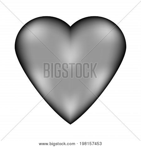 Love sign sign icon isolated on white background. Vector illustration.