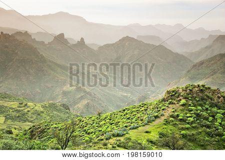 Mountains In Gran Canaria
