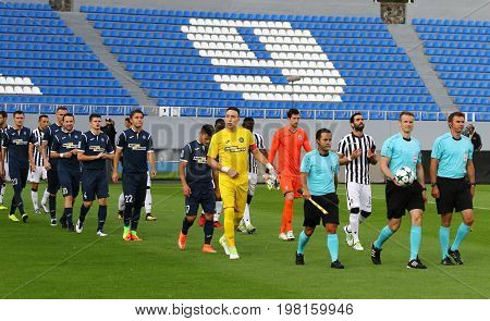 Uefa Europa League: Olimpik Donetsk Vs Paok
