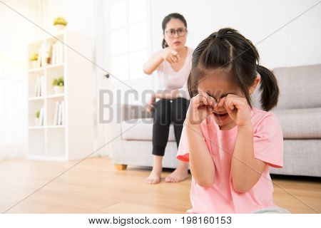 Young Children Making Mistakenly Crying