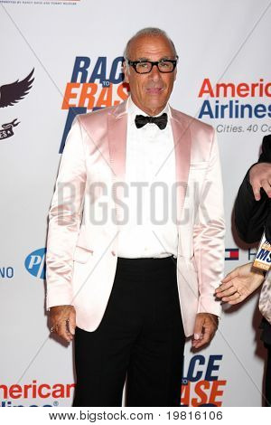 LOS ANGELES - APR 29:  Allen Schwartz of ABS, designer of Knock-off royal gowns arriving at the 18th Race to Erase MS Event at Century Plaza Hotel on April 29, 2011 in Century City, CA..