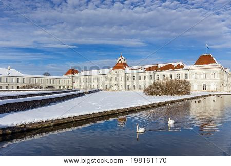 The Nymphenburg Palace in Munich, Bavaria, Germany