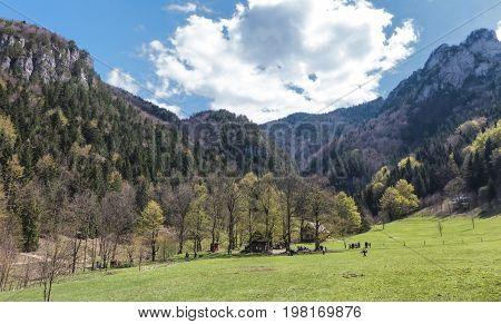 Landscape mountains - Mala Fatra range Slovakia