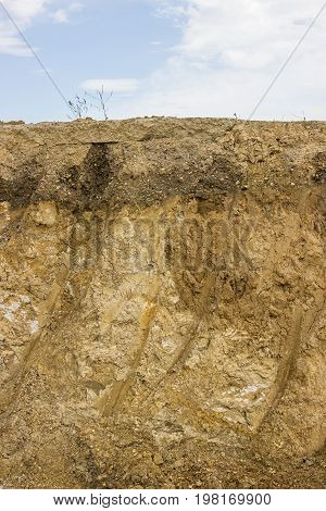 Cross Section Of Dirt 2