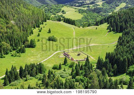 Beautiful nature in Great Fatra mountains Slovakia