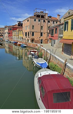 A residential area in the Dorsoduro quarter of Venice