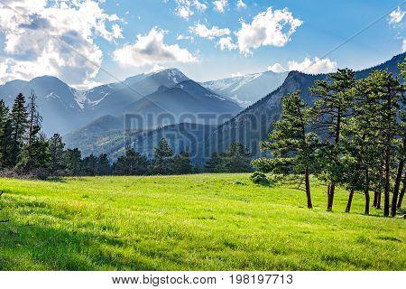 Green Mountain Meadow in Rocky Mountain National Park, Colorado