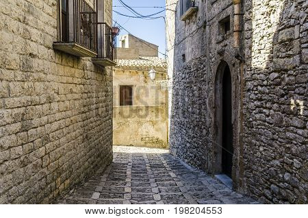 Medieval architectural elements are seen in the ancient city of erice