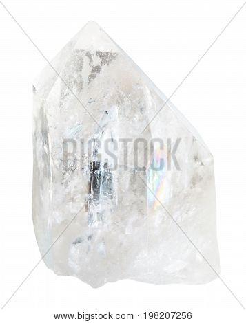 Natural Rhinestone Isolated On White