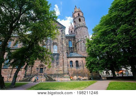 St Peters Church In Worms, Rhineland-palatinate, Germany