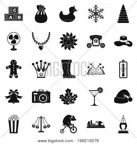 Guys icons set. Simple set of 25 guys vector icons for web isolated on white background