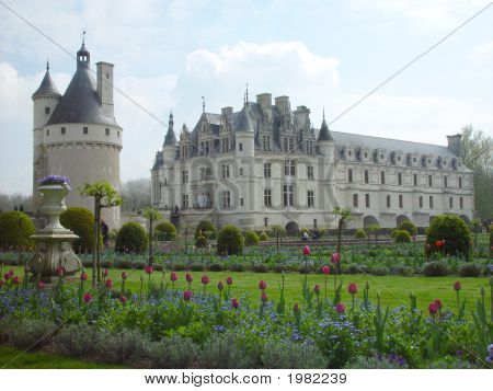 Chateauof Chenonceau, France 846