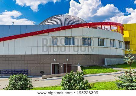 Large Novosibirsk Planetarium. Siberia, Russia