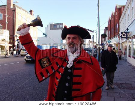 Town Crier on London Street