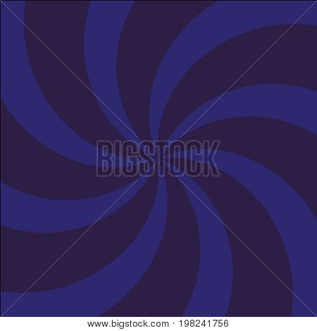Blue And Light-blue Twirl Background With Scratch.