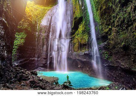 Madakaripura Waterfall Is The Tallest Waterfall In Java And The Second Tallest Waterfall In Indonesi