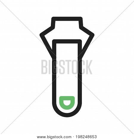 Zipper, fashion, zip icon vector image. Can also be used for Sewing. Suitable for mobile apps, web apps and print media.
