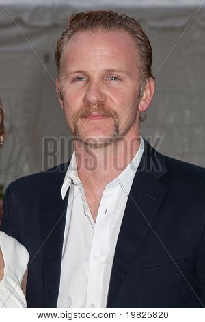 NEW YORK - SEPTEMBER 21: Morgan Spurlock attends the Metropolitan Opera 2009-10 season opening with a performance of 'Tosca' at Lincoln Center  on September 21, 2009 in New York City.