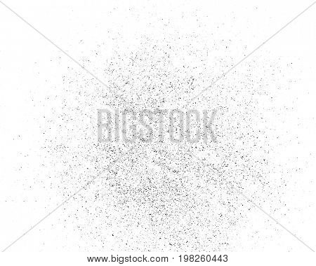 Grunge monochrome background. Abstract texture on white background, dirt overlay or screen effect use for grunge background vintage style.