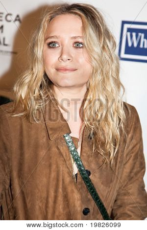 NEW YORK - APRIL 22: Mary-Kate Olsen attends the premiere of 'Whatever Works' during the 2009 Tribeca Film Festival at Ziegfeld on April 22, 2009 in New York.