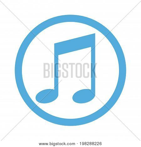note music web online melody concept vector illustration