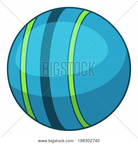 Trainer powerball icon. Cartoon illustration of trainer powerball vector icon for web design