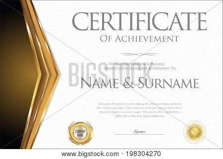 Certificate Or Diploma Retro Design Collection 3.eps