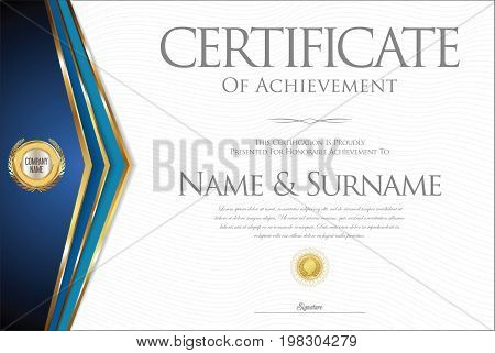 Certificate Or Diploma Retro Design Collection 2.eps