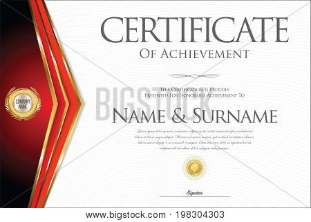 Certificate Or Diploma Retro Design Collection 1.eps