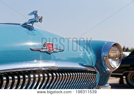 Fragment Of Vintage Retro Car At The