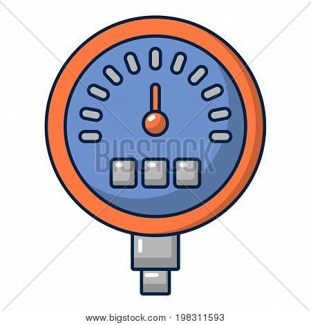 Water meter icon. Cartoon illustration of water meter vector icon for web design