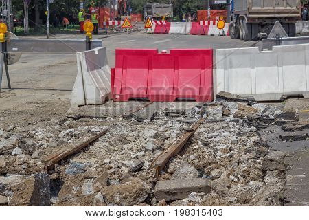 Reconstruction Of Tram Tracks 2