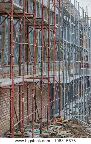 Scaffolding On Building 2