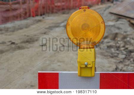 Yellow Warning Ligh