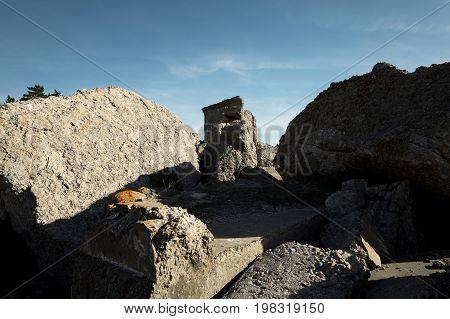 Demolished Military Forts
