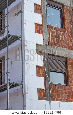 Wall Insulation With Polystyrene