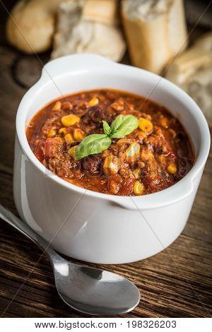 Mexican Chili Con Carne.