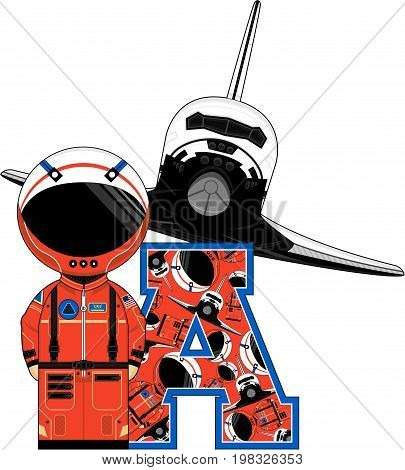 A Is For Astronaut 16