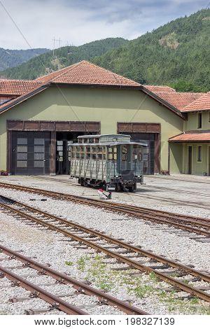 Retro Train Repair Station