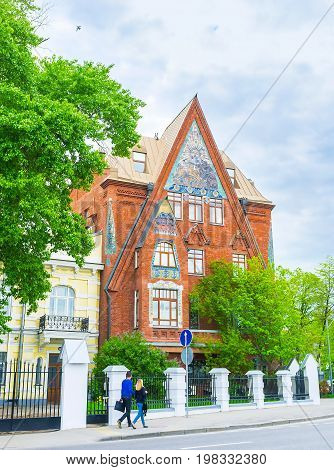 Art Nouveau In Moscow
