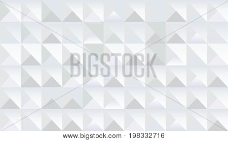 Abstract geometric triangle shapes, diamond geometric seamless design fractal lights, paper with polygonal 3D elements vector. High tech business rhombus texture pattern.