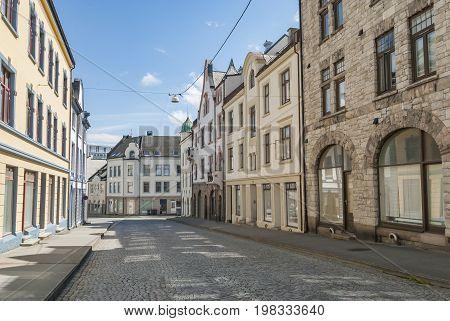 Buildings in art nouveau style in Alesund