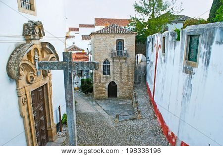 The Church And Synagogue In Obidos