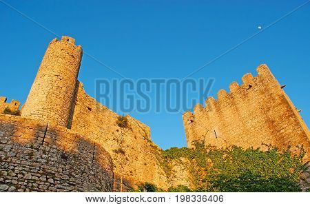 The Ruins Of Obidos Castle