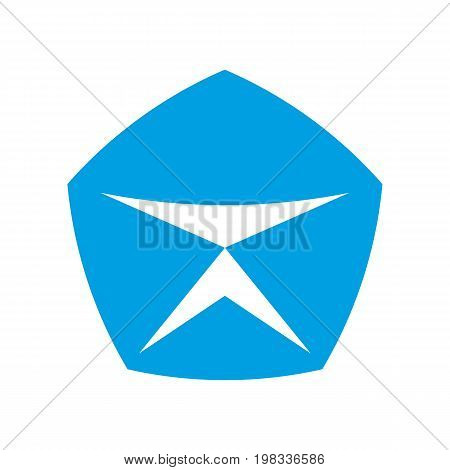 sign of quality. icon on white background. vector illustration.