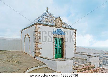 Memorial Chapel In Nazare Resort