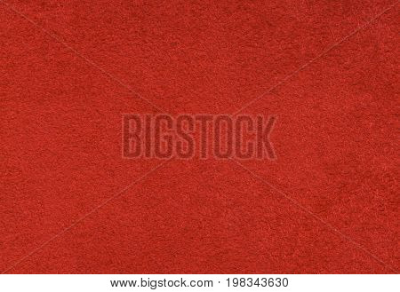 Twice fabric polyester viscose. Raspberry color. Texture backdrop high resolution