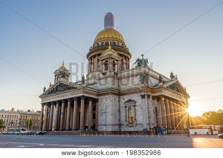 Saint Isaac's Cathedral The largest Russian Orthodox Cathedral in Saint Petersburg Russia
