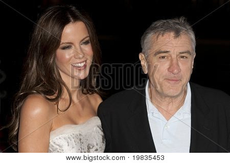 HOLLYWOOD, CA. - NOVEMBER 3: Kate Beckinsale (L) and Robert De Niro attend the AFI Fest premier of Everybody's Fine at The Grauman's Chinese Theater on November 3, 2009 in Hollywood.